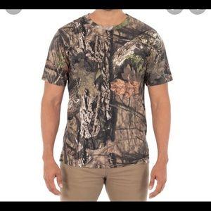 Mossy Oak Camo Short Sleeve Shirt